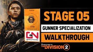 Division 2 - Stage 5 - Gunner Specialization Walkthrough - How to Destroy Basilisk Armor