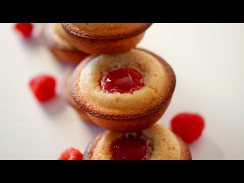 Raspberry Financiers - Bruno Albouze - THE REAL DEAL