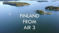 Finland From Air #3 - VARSINAIS-SUOMI, SATAKUNTA & PIRKANMAA | Mavic Pro 4k