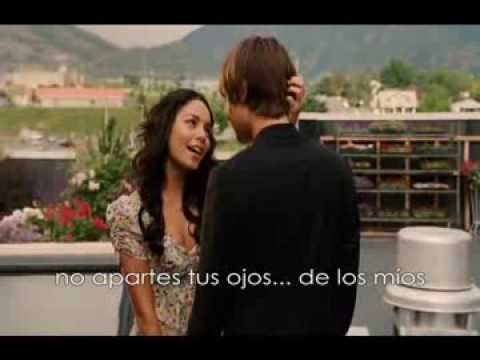 High School Musical ~ Can I Have This Dance subtitulada en español