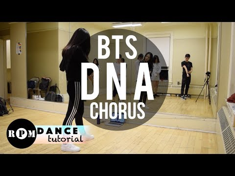 "BTS ""DNA"" Dance Tutorial (Chorus)"