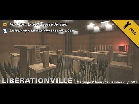 LiberationVille playthrough (Half-Life 2 Episode 2 custom maps)