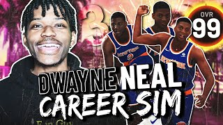 THE DWAYNE NEAL REBUILDING CHALLENGE IN NBA 2K20 | A NEW GOAT?