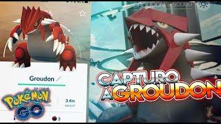 CAPTURO a GROUDON!! BUG, CAMBIOS & CONSEJOS !! - Pokemon Go