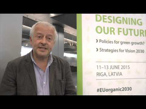 IFOAM EU President Christopher Stopes: Organic Vision for Europe