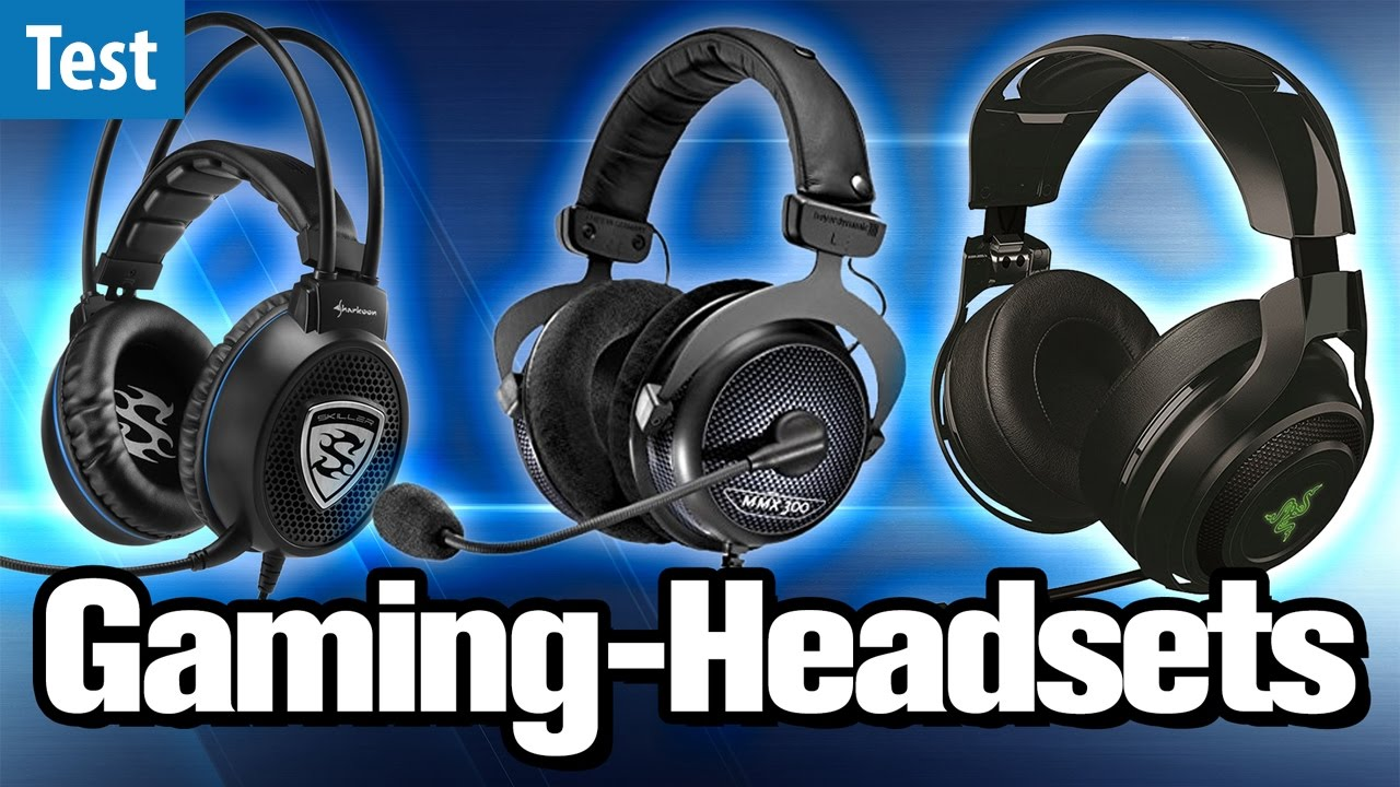 die besten gaming headsets im test 2017 gaming pc. Black Bedroom Furniture Sets. Home Design Ideas