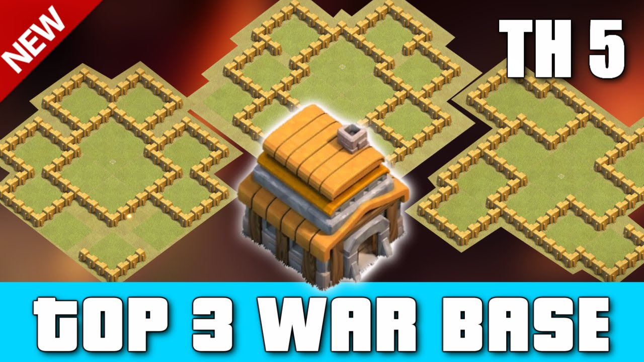 Th5 War Base Best Defense Layout 2