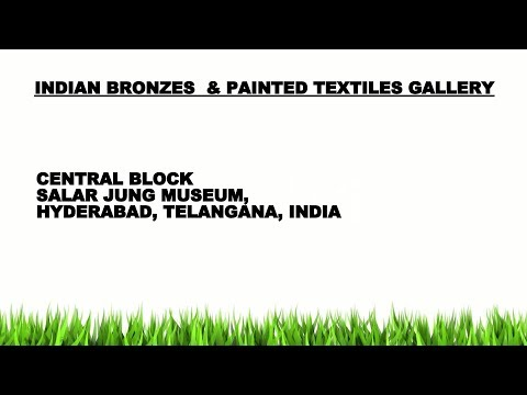 INDIAN BRONZES  & PAINTED TEXTILES GALLERY (122  STILL PHOTOS), SALAR JUNG MUSEUM