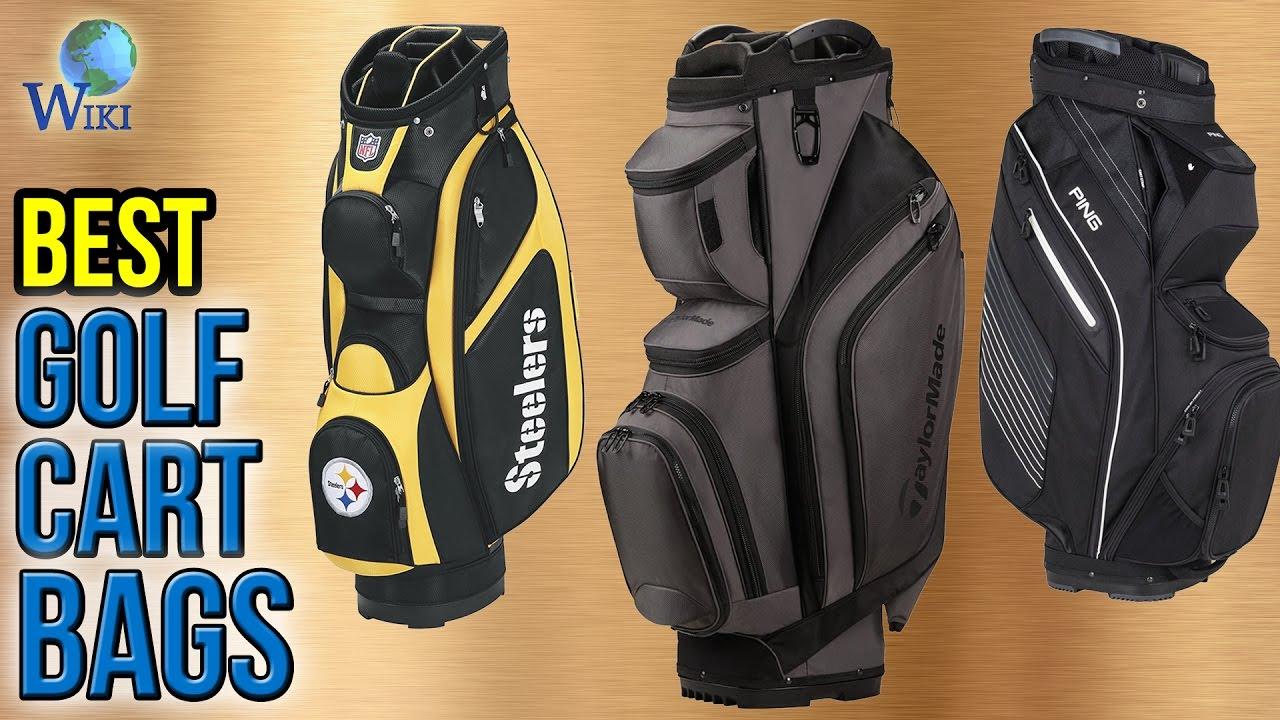 6e07e2588e 10 Best Golf Cart Bags 2017 - YouTube