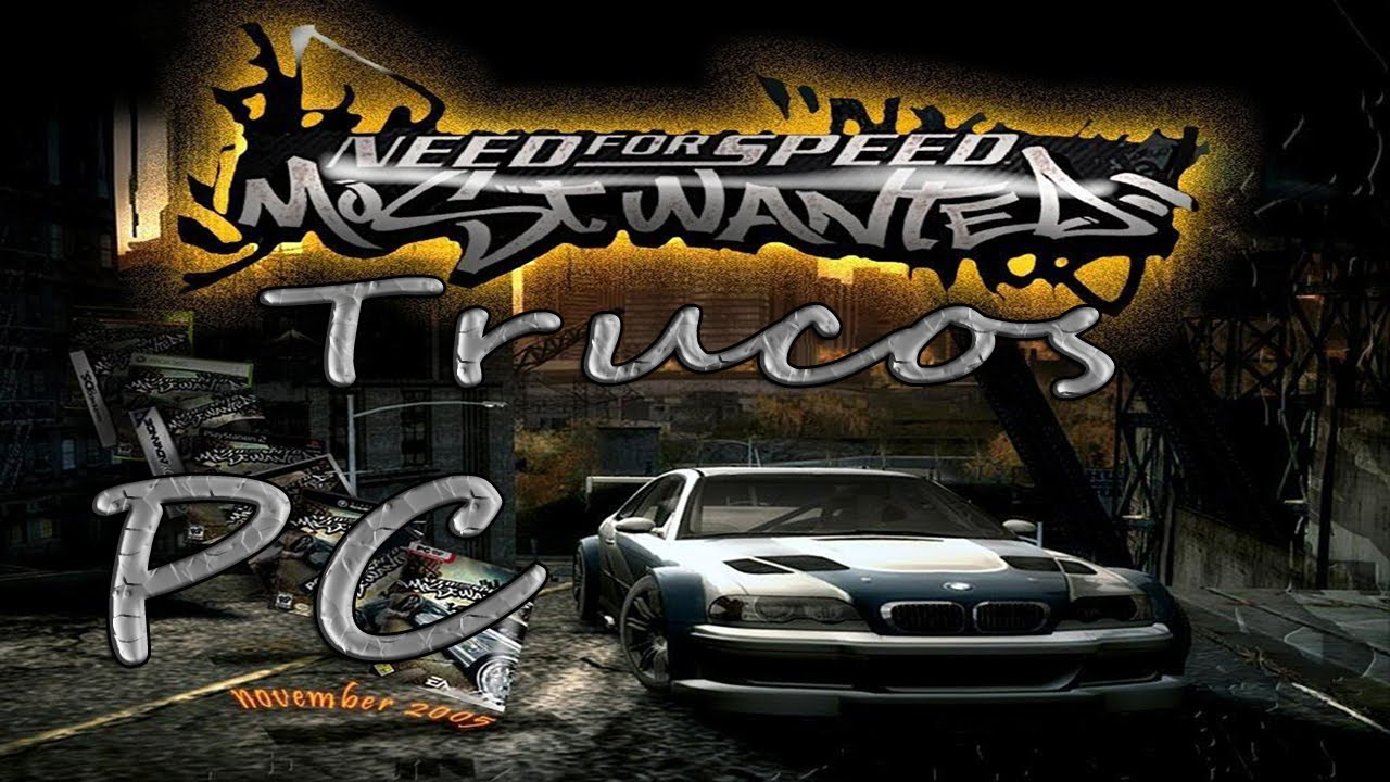 Trucos Need For Speed Most Wanted Pc Loquendo Youtube