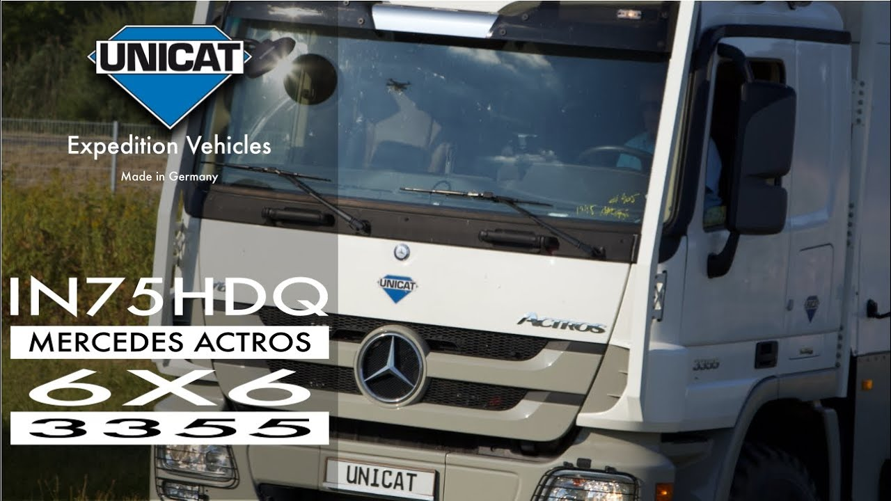 UNICAT Expedition Vehicles - EX74 HDC - Mercedes Benz Actros 6X6 ...