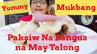 How to Cook Paĸsiw Na Bangus with Lemon Grass at Talong // Lutong Ate Jonna Vlog // Mukbang Na Rin.