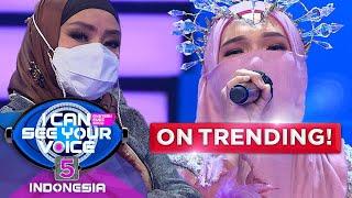 SIAPA SANGKA?! Miss Melayu Alias Kiki KDI Berhasil Mengecoh Iyeth Bustami  - ICSYV Indonesia 5