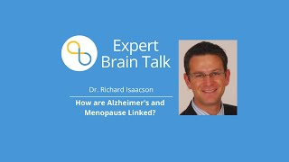 The Link between Alzheimer's and Menopause | Brain Talks | Being Patient Alzheimer's