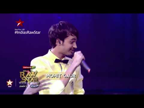 India's Raw Star - Mohit Gaur's cupcake, Yo Yo Honey Singh