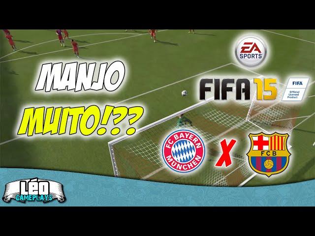 Fifa 15: Bayern München X Barcelona [nÍvel LendÁrio] - Manjo Muito? (1080p60fps)?