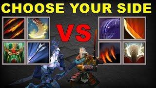 Choose your side - Drow Ranger Vs Juggernaut | Dota 2 Ability Draft