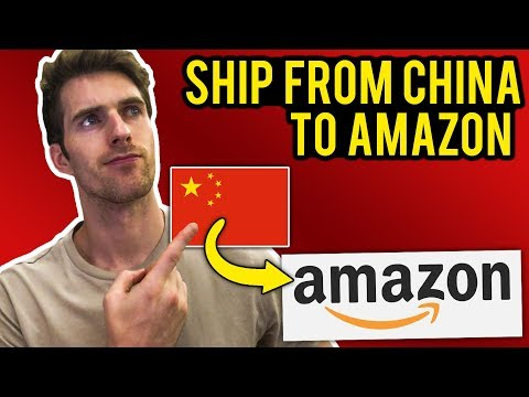 How To Ship From China to Amazon FBA Warehouses | Step By Step Tutorial for Beginners