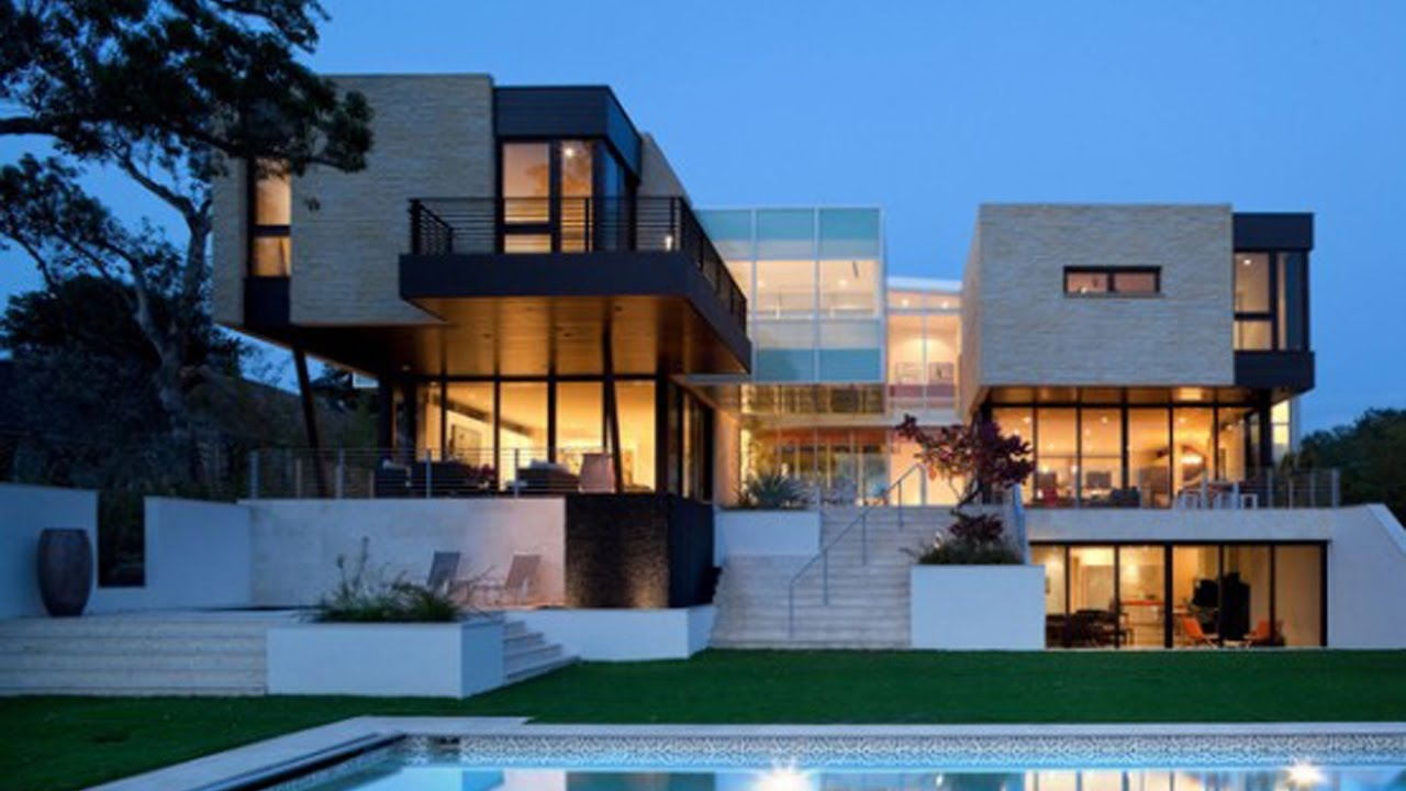 Top 40 Modern Contemporary House Design Ever Built - YouTube