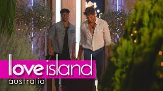 Justin and Elias' emotional farewell   Love Island Australia 2018