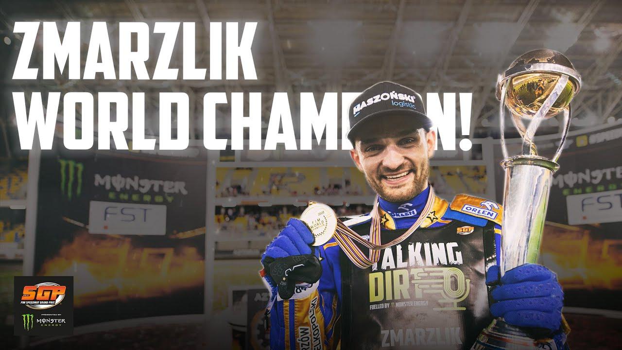 ZMARZLIK COMPLETES WORLD TITLE DOUBLE! | FIM Speedway Grand Prix