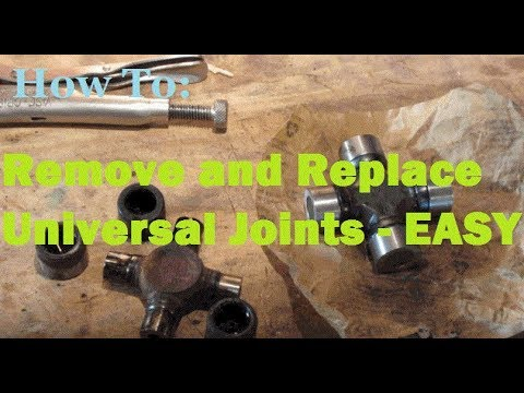 UNIVERSAL JOINTS - Removing and Replacing WITHOUT a Press