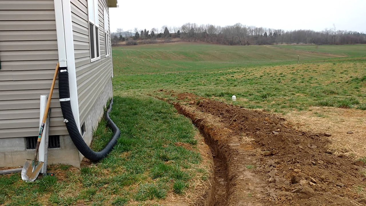 Image Result For French Drains Around House