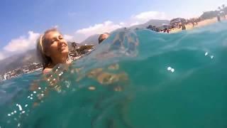 Alanya Cleopatra beach 2017 Пляж Клеопатры в Алании 2017