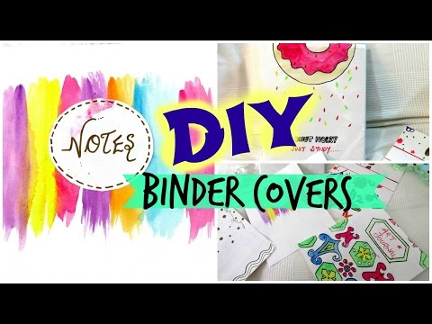 DIY-Binder covers // Easy and Affordable