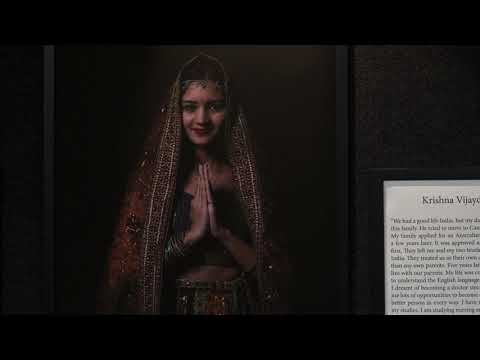 "The video about the exhibition ""My Australia"""