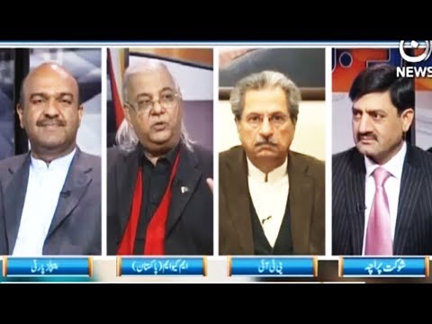 Ru Baroo - 22 December 2017 - Aaj News