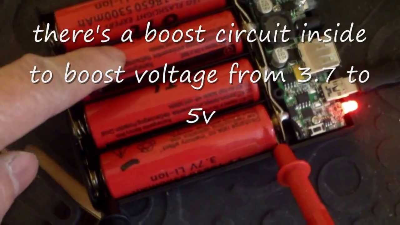 18650 Lithium Ion Battery Box Charger Power Supply Youtube