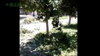 (18+).  Украинские войска расстреляли детей и женщин в Горловке!