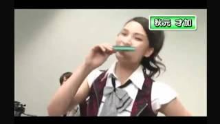 AKB48新チームK秋元才加と大島優子と板野友美の映像です! 才加はハーモ...