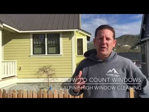 How to count windows | Lookout Chelan Washington
