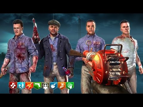 MOB OF THE DEAD EASTER EGG w/ RANDOMS!!! - BLACK OPS 2 ZOMBIES XBOX ONE GAMEPLAY! (BO2 Zombies)