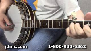 Huber Sammy Shelor Truetone Custom 5-String Banjo by JDMC