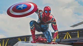 Hey everyone scene but with IRON SPIDERMAN #Shorts