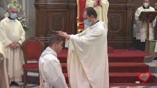 Ordinazione sacerdotale di Don Luigi Ziccolella dalla Cattedrale di Molfetta