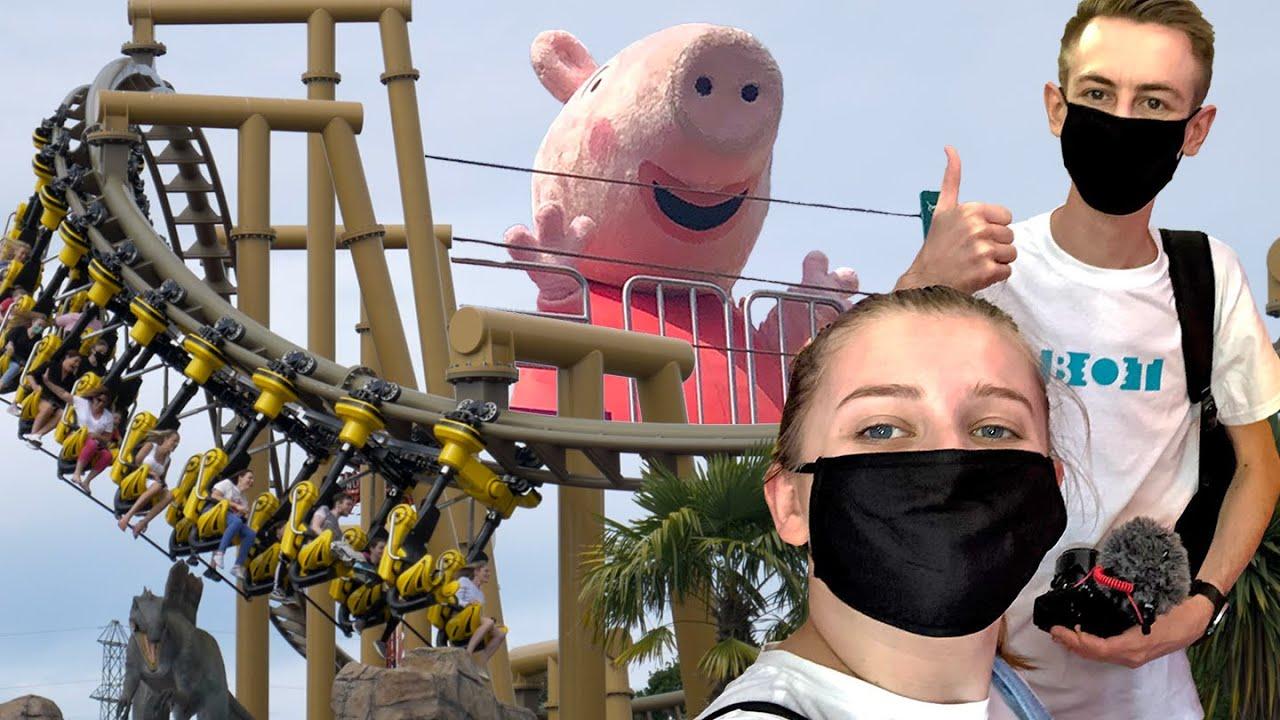 We met Peppa Pig! - Paultons Park Vlog