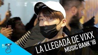 Llegada de VIXX a Music Bank en Chile   K-Pop Match
