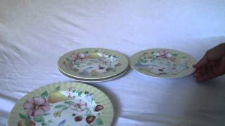 Ebay For Sale: Set Of 4 Dessert Salad Plates Atmosphere Collection By Pfaltzgraff