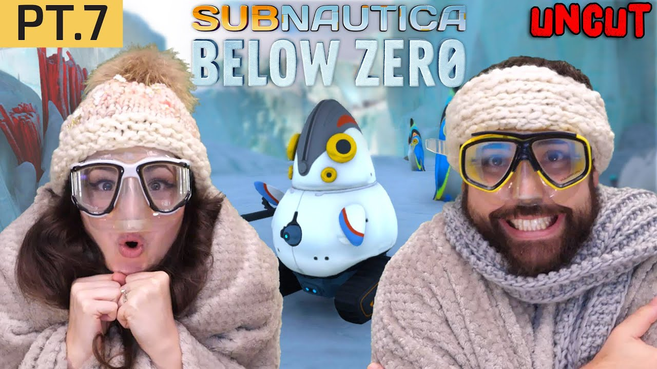 Exploring With Our Spy Pengling! (Subnautica Below Zero pt.7 uncut)