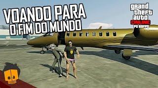 GTA 5 ONLINE PC LUXOR DELUXE VOANDO PARA O FIM DO MUNDO