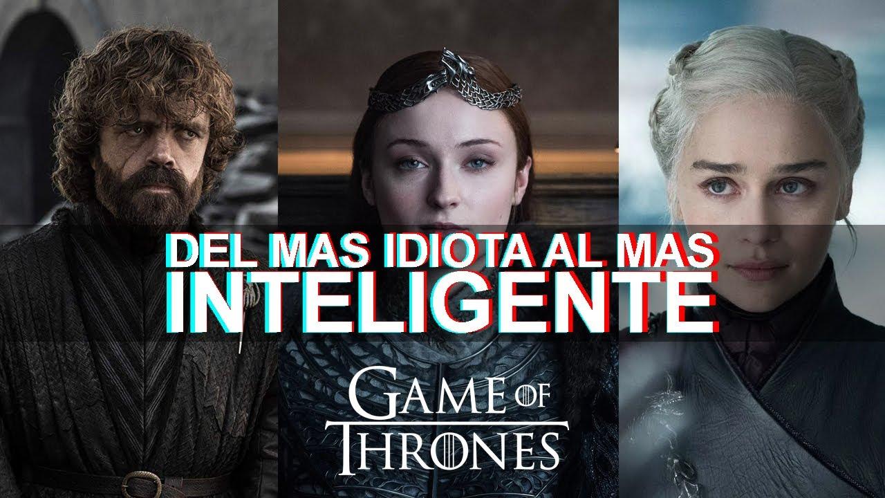 DEL PERSONAJE MAS TONTO AL MAS INTELIGENTE DE GOT | Game of Thrones | Ness