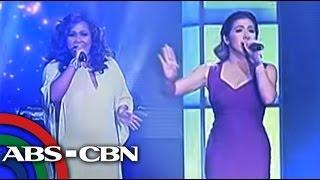TV Patrol: Angeline Quinto, Bituin Escalante nagbiritan sa APEC closing show