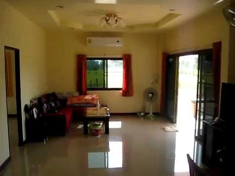 Our new house (inside) in Ban Kham Noi Lao Sua Kok Ubon Ratchathani