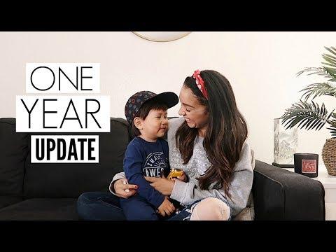 JULIAN'S 1 YEAR HOME KOREAN ADOPTION UPDATE   Mel and Shane