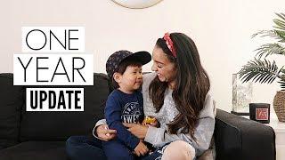 Julian 39 S 1 Year Home Korean Adoption Update Mel And Shane