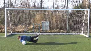 Individual Goalkeeper Training: High Diving, Agility and Crosses